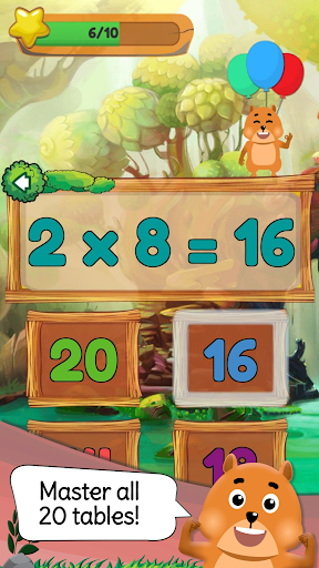 Times Tables: Mental Math Games for Kids Free  screenshots 3