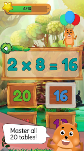Times Tables: Mental Math Games for Kids Free