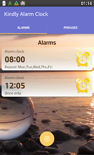 Kindly Alarm Clock