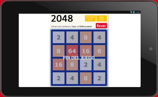 2048 [spanish version] screenshot 3