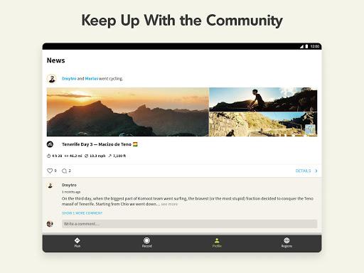 Komoot u2014 Cycling, Hiking & Mountain Biking Maps 10.21.15 Screenshots 13