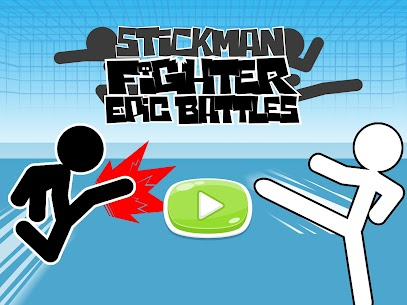 Free Stickman fighter   Epic battle Apk Download 2021 5