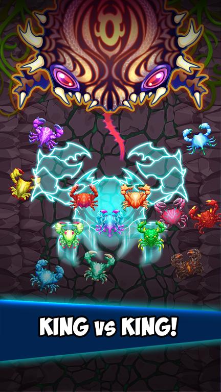 Crab War : Idle Swarm Evolution  poster 5