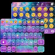 Galaxy Glitter Emoji Keyboard  Icon