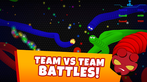 Snaky .io - Fun Multiplayer Slither Battle screenshots 3