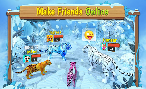 White Tiger Family Sim Online - Animal Simulator  Screenshots 18