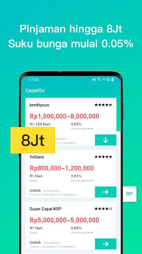 Apk CepatGo- Pasar Pinjaman Tunai online