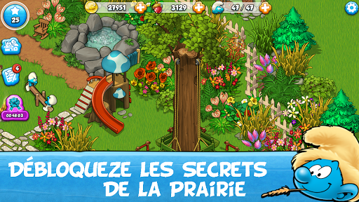 Télécharger Smurfs and the Magical Meadow APK MOD 2