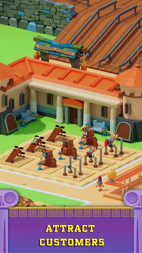 Idle Antique Gym Tycoon: Incremental Odyssey screenshots 3
