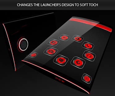 Soft Touch Red Theme 13.0.6 Screenshots 4