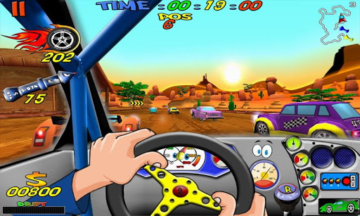 Cartoon Racing apktram screenshots 14