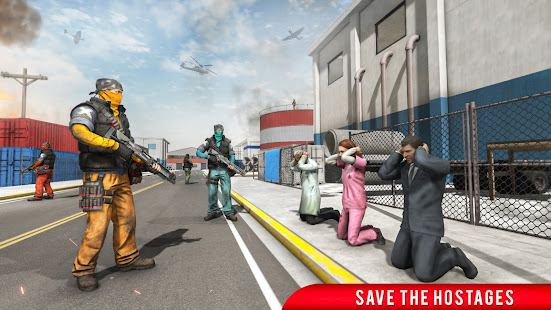 Real Terrorist Shooting Games: Gun Shoot War 1.15 Screenshots 3