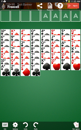 Freecell apkpoly screenshots 9