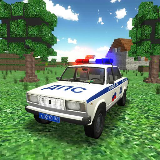 Driver Steve: Police car - police simulator