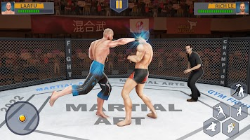 Martial Arts Karate Fighting Games: Cage Battle