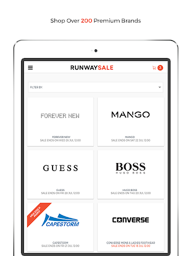RunwaySale modavailable screenshots 6