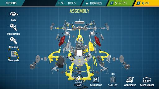 Car Mechanic Simulator 21: repair & tune cars  screenshots 15