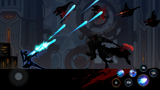 Shadow Knight Ninja Warriors Mod Apk , Shadow Knight Ninja Warriors – Stickman Fighting Apk Download , New 2021 4
