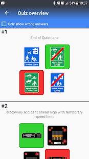 I know traffic signs