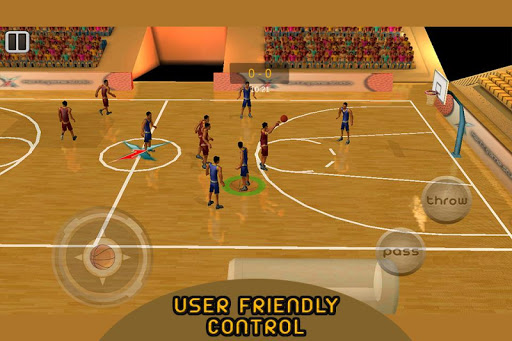 Real 3d Basketball : Full Game 1.8 screenshots 11