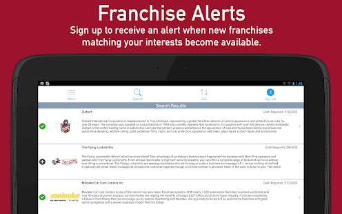 Franchise Business to Buy