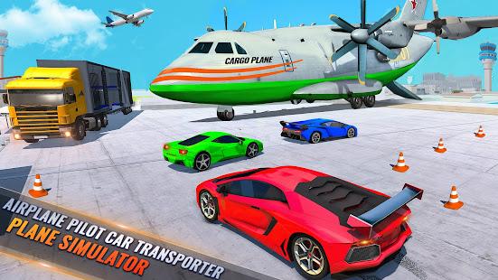 Airplane Pilot Car Transporter: Airplane Simulator screenshots 15