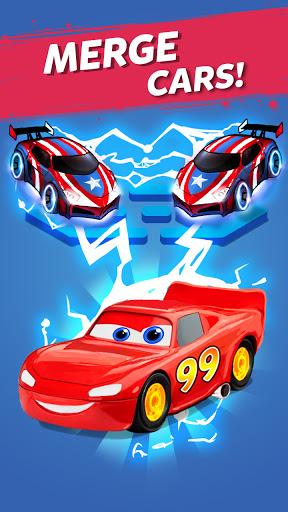 Merge Neon Car: Car Merger 2.2.1 screenshots 1