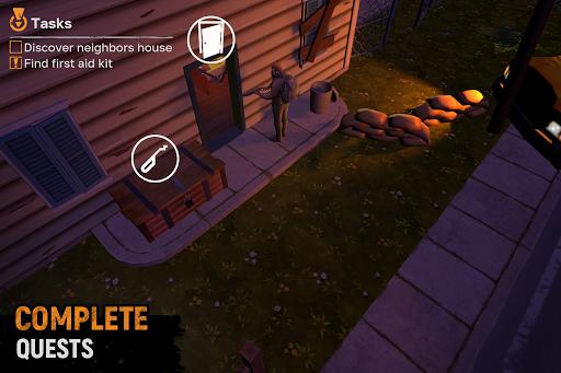 Let's Survive - Survival game in zombie apocalypse apklade screenshots 2