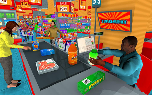 Supermarket Grocery Shopping Mall Family Game 1.8 screenshots 5