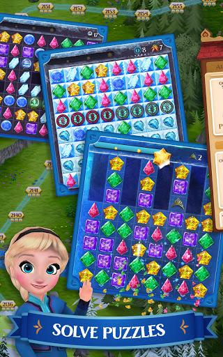Disney Frozen Free Fall - Play Frozen Puzzle Games 10.0.1 screenshots 1