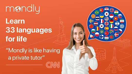 Learn 33 Languages Free – Mondly 1
