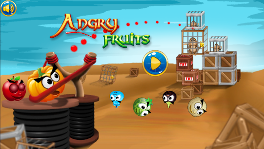 Angry Fruits 1