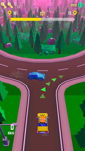 Taxi Run - Crazy Driver 1.30 screenshots 8