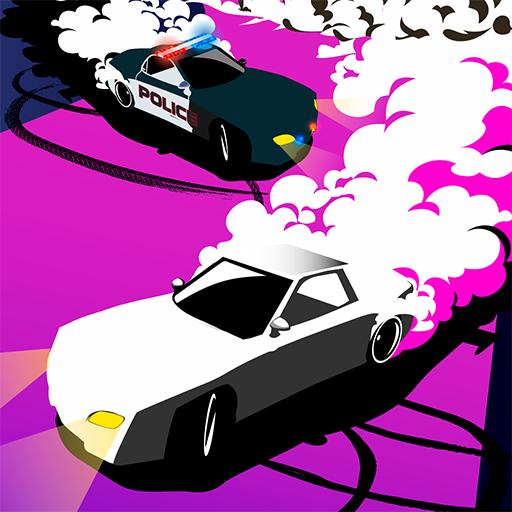 Police Drift Racing Icon
