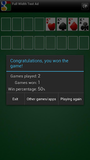 Freecell apkpoly screenshots 3