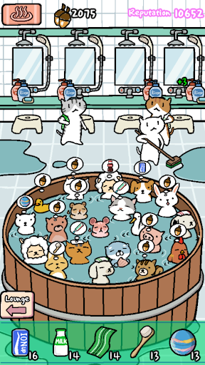 Animal Hot Springs - Relaxing with cute animals screenshots 2