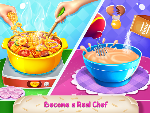 Icecream Cone Cupcake Baking Maker Chef apktram screenshots 13