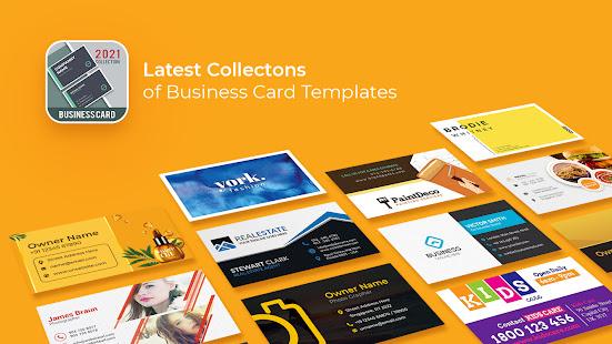 business card maker free visiting card maker photo  apps