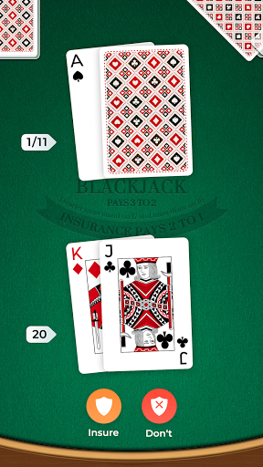 Blackjack 1.1.6 screenshots 3