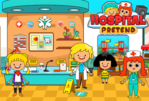 My Pretend Hospital - Kids Hospital Town Life apkpoly screenshots 7
