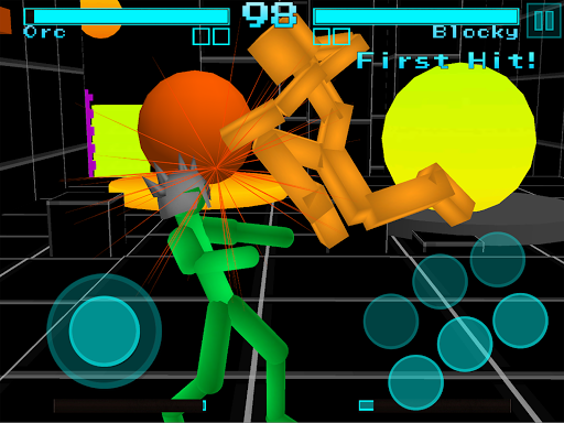 Stickman Fighting: Neon Warriors screenshots 14