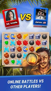 Pirates & Puzzles - PVP Pirate Battles & Match 3 Screenshot