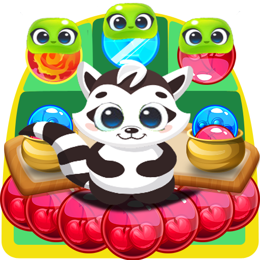 Raccoon Pop - Bubble Shooter Fun Game For PC Windows (7, 8, 10 and 10x) & Mac Computer