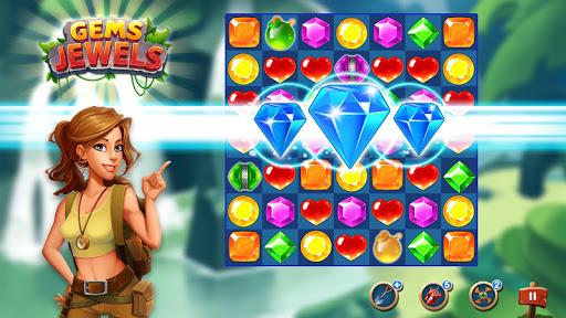 Jewel & Gem Blast - Match 3 Puzzle Game 2.5.1 screenshots 6