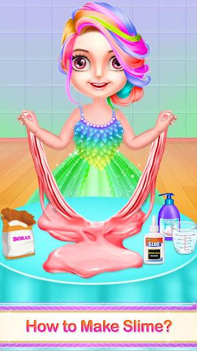 DIY Slime Maker Squishy Jelly ASMR Game apkpoly screenshots 1