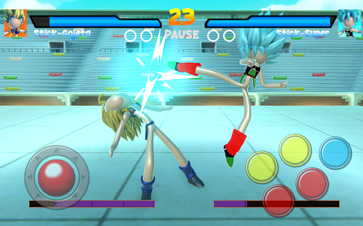 Stick Super Battle War Warrior Dragon Shadow Fight 8.0 screenshots 7