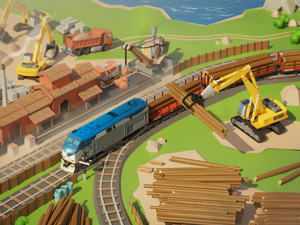 Train Station 2: Railroad Tycoon & Train Simulator poster 4