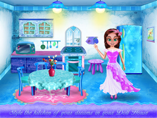 Ice Doll House Design: Decoration games 1.0.7 screenshots 8