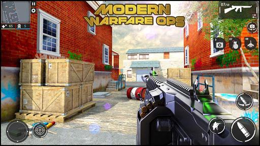 Modern Warfare Ops: FPS Shooter - Shooting Games  screenshots 2