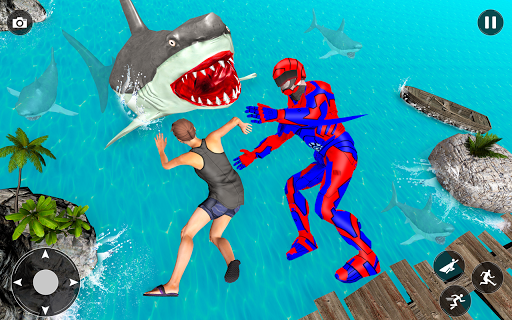 Superhero robot game police hero: rescue mission  Screenshots 13